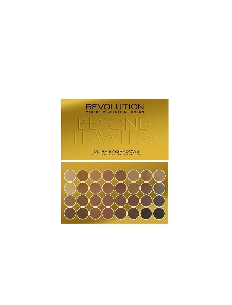 Makeup Revolution Ultra 32 Shade Eyeshadow Palette Beyond Flawless (16gr)