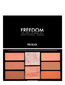 Freedom London Pro Blush Palette Peach And Baked (15gr)