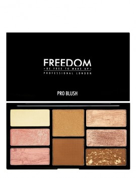 Freedom London Pro Blush Palette Bronze And Baked (15gr)