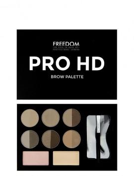 Freedom London Pro HD Brow Palette Fair Medium (10gr)