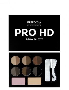 Freedom London Pro HD Brow Palette Fair Dark (10gr)
