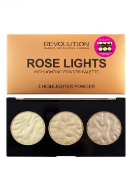 Makeup Revolution Rose Lights Highlighter Palette (15gr)