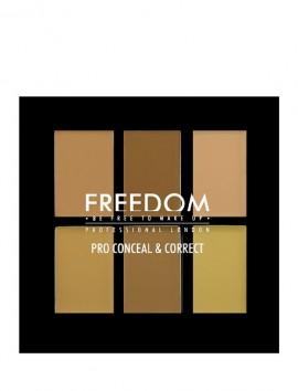 Freedom London Pro Conceal Palette Light/Medium (6gr)