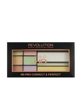 Makeup Revolution HD Correct And Perfect Palette (16.5gr)