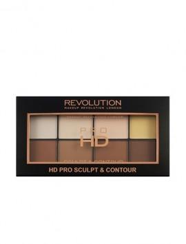 Makeup Revolution HD Pro Sculpt And Contour Palette (15gr)