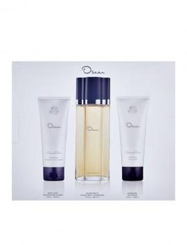 Oscar De La Renta Women Gift Set Eau De Toilette Spray 100ml & Body Lotion 100ml & Shower Gel 100ml