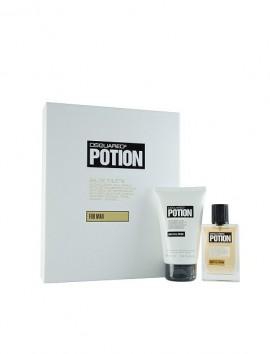 Dsquared2 Potion Men Gift Set Eau De Parfum Spray 50ml & Shower Gel 100ml