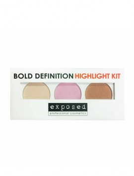 Exposed Cosmetics Bold Definition Highlight Kit (7.2gr)