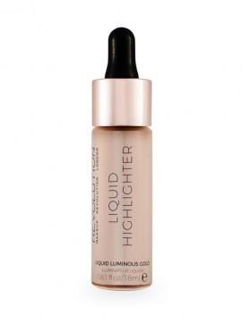 Makeup Revolution Liquid Highlighter Luminous Gold (18ml)