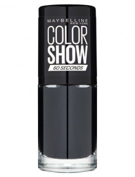 Maybelline Color Show Nail Lacquer No 677 Blackout (7ml)