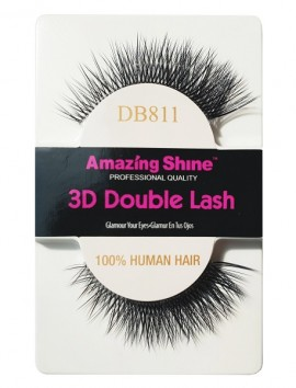 Amazing Shine 3D Double Βλεφαρίδες No DB811