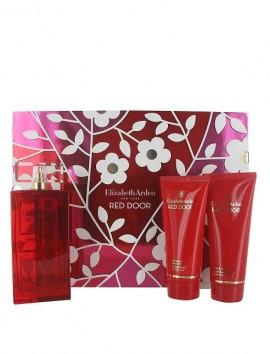 Elizabeth Arden Red Door Women Gift Set Eau De Toilette Spray 100ml & Body Lotion 100ml & Shower Gel 100ml