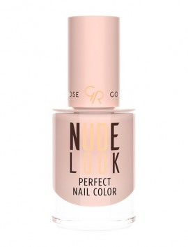 Golden Rose Nude Look Perfect Nail Color No 01 Powder Nude (10.2ml)