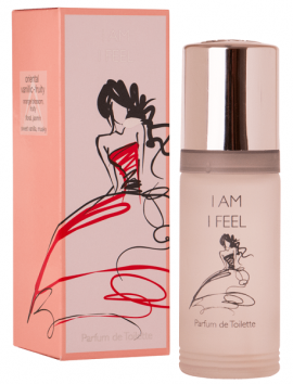 Milton Lloyd I Am I Feel Women Parfum De Toilette Spray 55ml