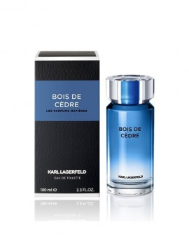 Karl Lagerfeld Les Parfums Matieres Bois De Cedre Men Eau De Toilette Spray 100ml
